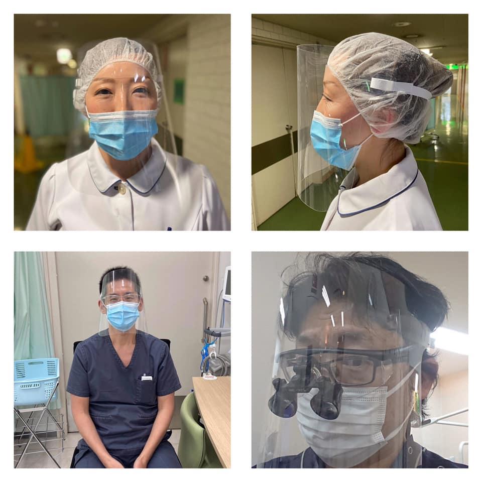 【プレスリリース】院内感染対策用フェイスシールドを認定歯科医療機関向けに 無償配布へ